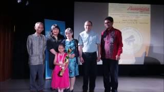 1st Winner Nusantara Piano Competition 2016. Jakarta, 27Nov2016 - Stafaband
