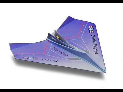 F 117 Nighthawk At Night Nighthawk Paper...