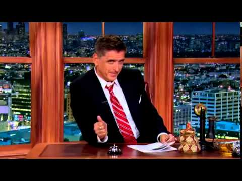 The Late Late Show with Craig Ferguson 16 September 2014 Full Terry Bradshaw , Joel Stein