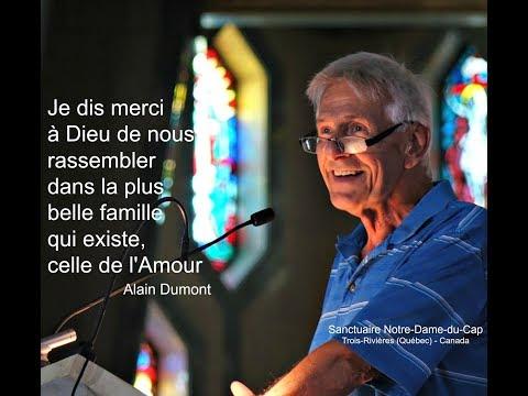 Prédication d'Alain Dumont au Festival de l'Assomption   Août 2017