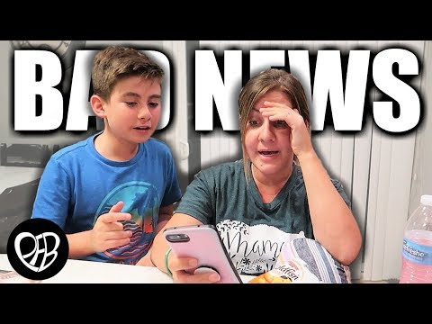 We came home to TERRIBLE NEWS | Bad News before KIDS GO BACK TO SCHOOL | PHILLIPS FamBam Vlogs