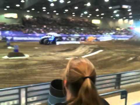 Monster Truck Racing Monster Energy Vs. New Earth Authority