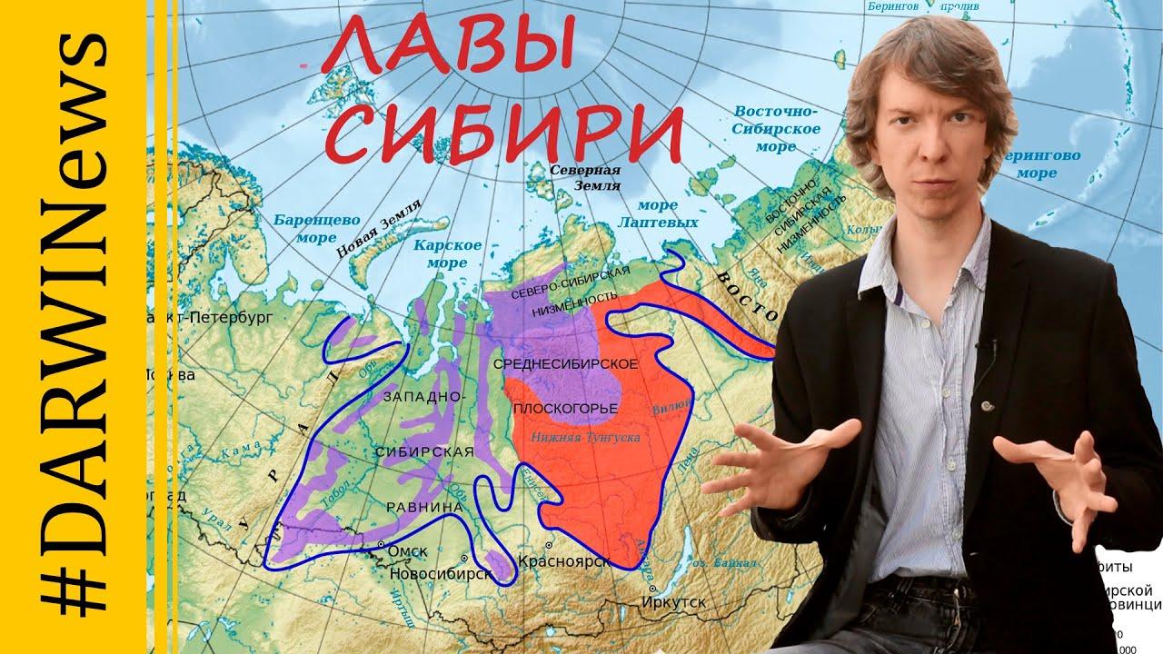 Великое пермское вымирание спровоцировали извержения в Сибири. Ярослав Попов. #DARWINews
