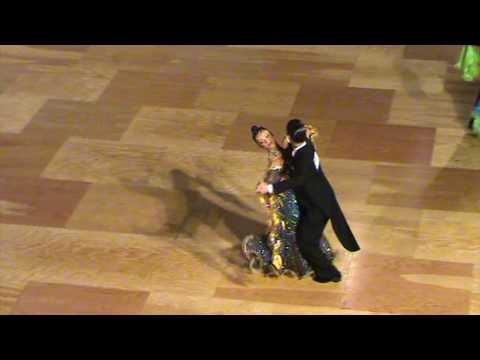Adrian Esperon y Patricia Martinez - SLOW FOX Semifinal CAMPEONATO DE ESPAÑA 10 BAILES