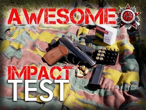 .45 Cal Rubber Rounds Test