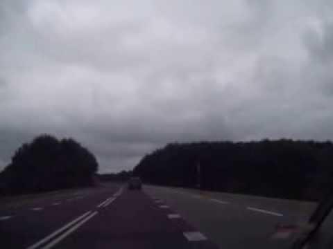 Autofahrt in Richtung Emden in Holland am Dienstag den 3.09.2013