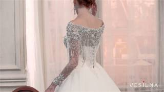 Красивое пышное свадебное платье от VESILNA™ модель 3014