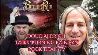 Doug Aldrich discusses NEW Burning Rain record Face The Music