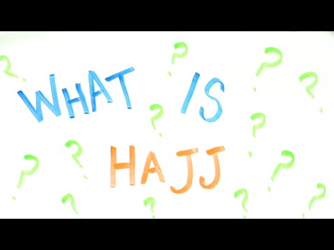 What is The Muslim Holy Pilgrimage aka Hajj?