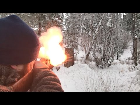 Montana Winter Muzzleloader Shoot Circa 2017