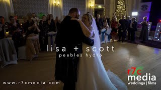 lisa + scott - peebles hydro