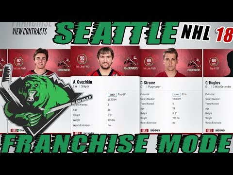 NHL 18: Seattle Franchise Mode #32