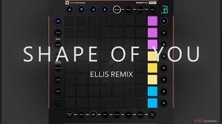 Ed Sheeran - Shape Of You [Ellis Remix] (Unipad Pro Cover//Preview) Mp3