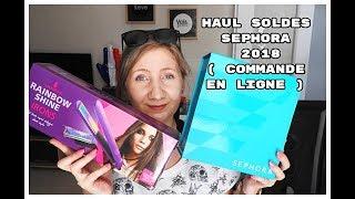 Haul soldes Sephora (Commande en ligne)