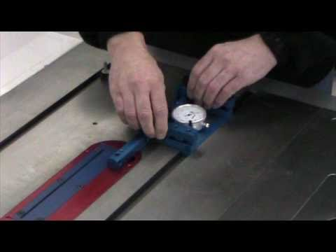 Betterley UNA-GAUGE Aligning and Adjusting a Table Saw