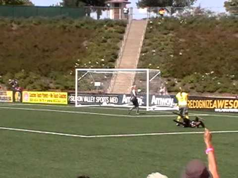Kandace Wilson Goal at 2010 WPS Championships