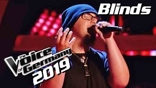 Nightmare Before Christmas - Jack's Lament (Patrick Bulluck) | The Voice of Germany 2019 | Blinds