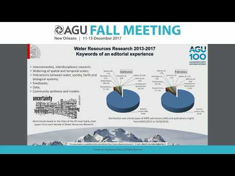 2017 Fall Meeting - H42F: Recent Advances in the Hydrologic Sciences I