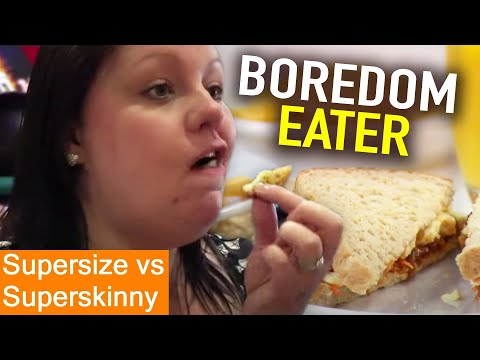 Boredom EATING | Supersize Vs Superskinny | S07E02 | How To Lose Weight | Full Episodes