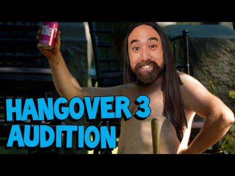 Replacing Zach Galifianakis - Steve Aoki's The Hangover 3 Audition