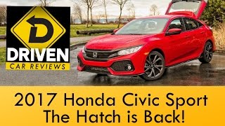2017 Honda Civic Hatchback Sport Car Review