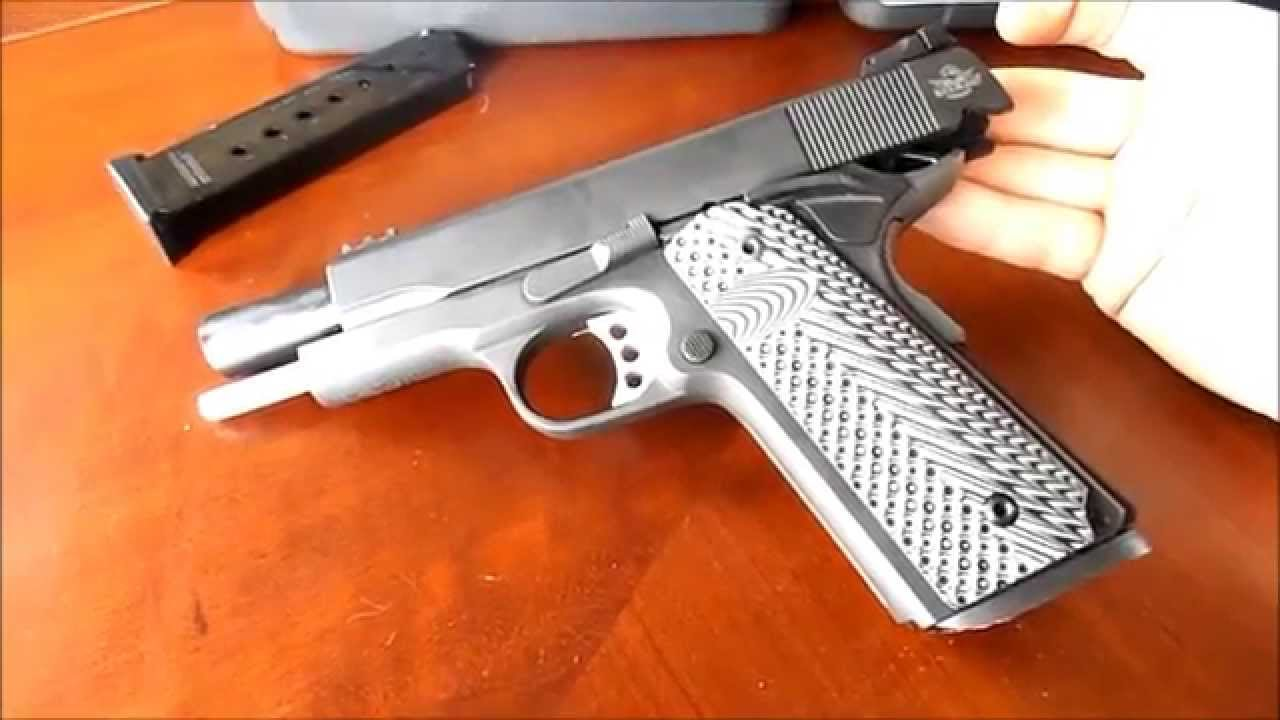 Rock Island (armscor)1911 Tactical II with VZ Grips