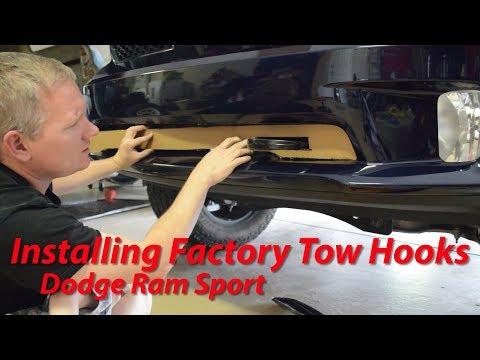 installing-factory-tow-hooks---dodge-ram-sport---4th-gen