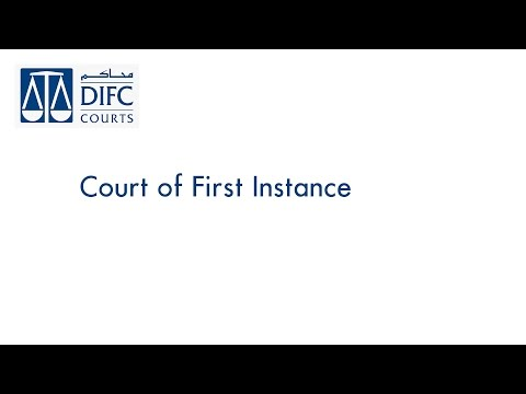 Court of First Instance 030/2014