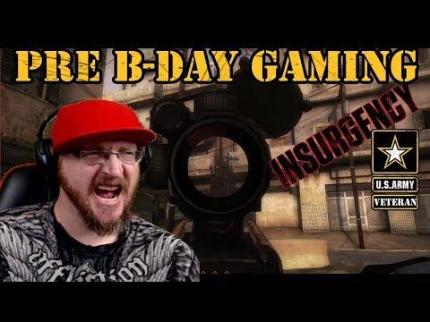 Pre B-Day gaming live | US Army Veteran