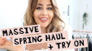 MASSIVE SPRING HAUL & TRY ON! Sophie Milner // fashion slave