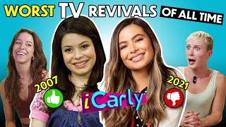 The Worst TV Reboots of ALL TIME (iCarly, Gossip Girl, Avatar: The Last Airbender)