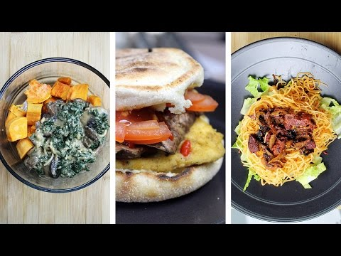 What I Ate In A Day VEGAN #21 // WEEKEND EDITION: Breakfast Sandwiches + more
