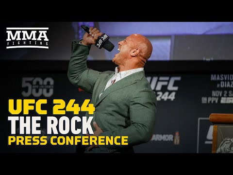 The Rock to Star as UFC Legend Mark Kerr in New Movie - MMA Fighting