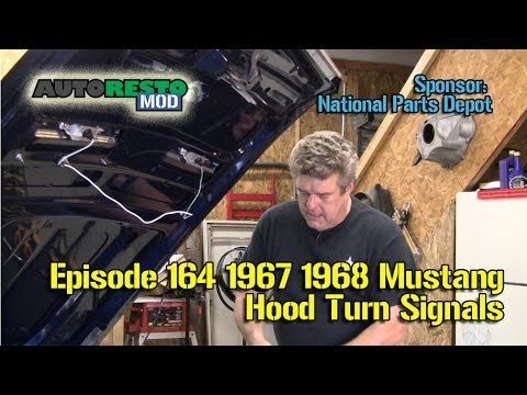 hqdefault 1967 1968 turn signal hood light install with sequentials  at webbmarketing.co