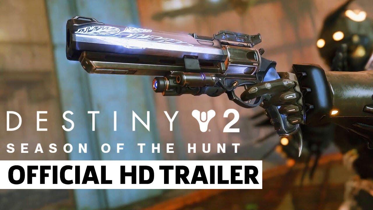 Destiny 2: Beyond Light - Hawkmoon Catalyst Trailer