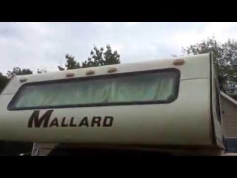 Nice 1984 Mallard Chevy G30 RV Motorhome for sale on ebay 7-31-16