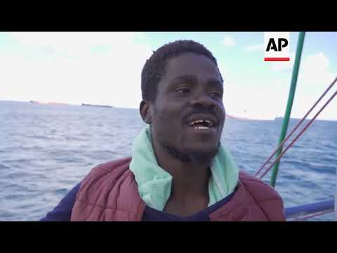 Rescuers on challenges of saving migrants at sea