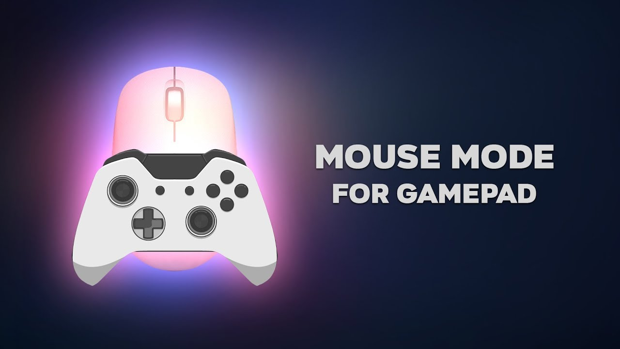 Use gamepad as a mouse on BlueStacks 4