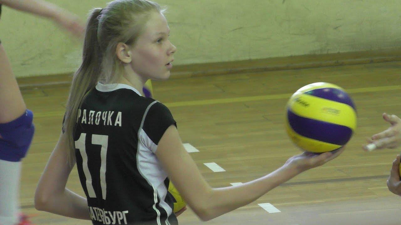 соревнования первенства России по волейболу среди девушек - Бор и Екатеринбург