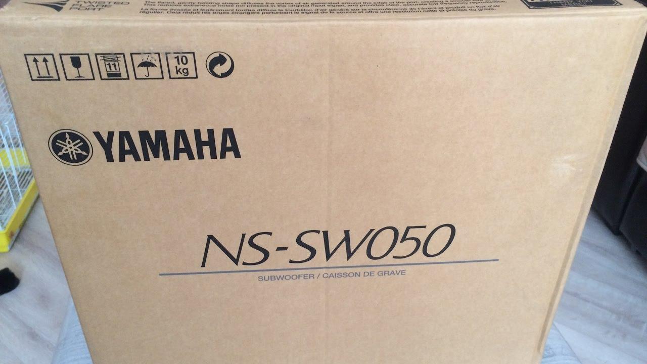 Yamaha YST-SW315 - YouTube
