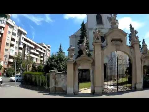 5. Клуж. Румыния. Католическая церковь св. Петра и Павла в неоготическом стиле.