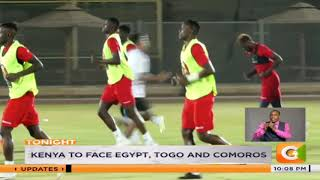 Kenya to face Egypt, Togo and Comoros for 2021 AFCON qualifiers