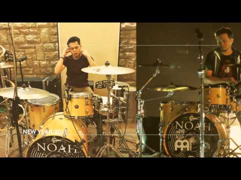Mengenal Rio Alief Drummer Pengganti Posisi Reza NOAH