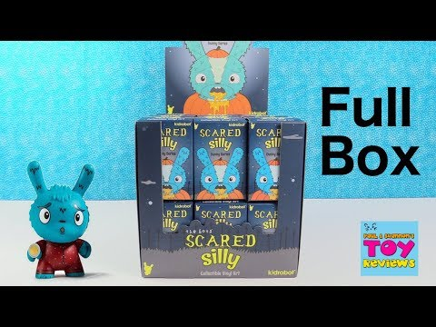 Scared Silly Dunny Series Kidrobot Blind Box Unboxing | PSToyReviews