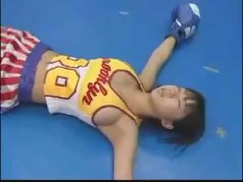 Rio Natsumi Boxing workout