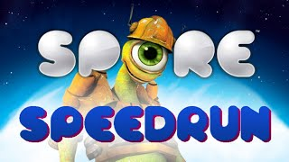 WORLD RECORD Spore Speedrun Any% Hard 56:08