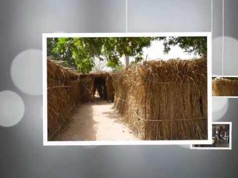 Building of a new school, Guinea Bissau Africa