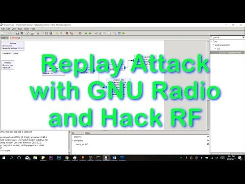 Replay Attack with GNU Radio and Hack RF (Tutorial) - YouTube