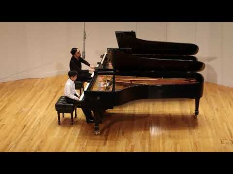 Cary Wang performs Mozart's Concerto No. 21 in C Major, K. 467, 3rd movement, which won him the only First Prize in the 10-to-14 age group at the Manhattan School of Music Annual Concerto Competition.