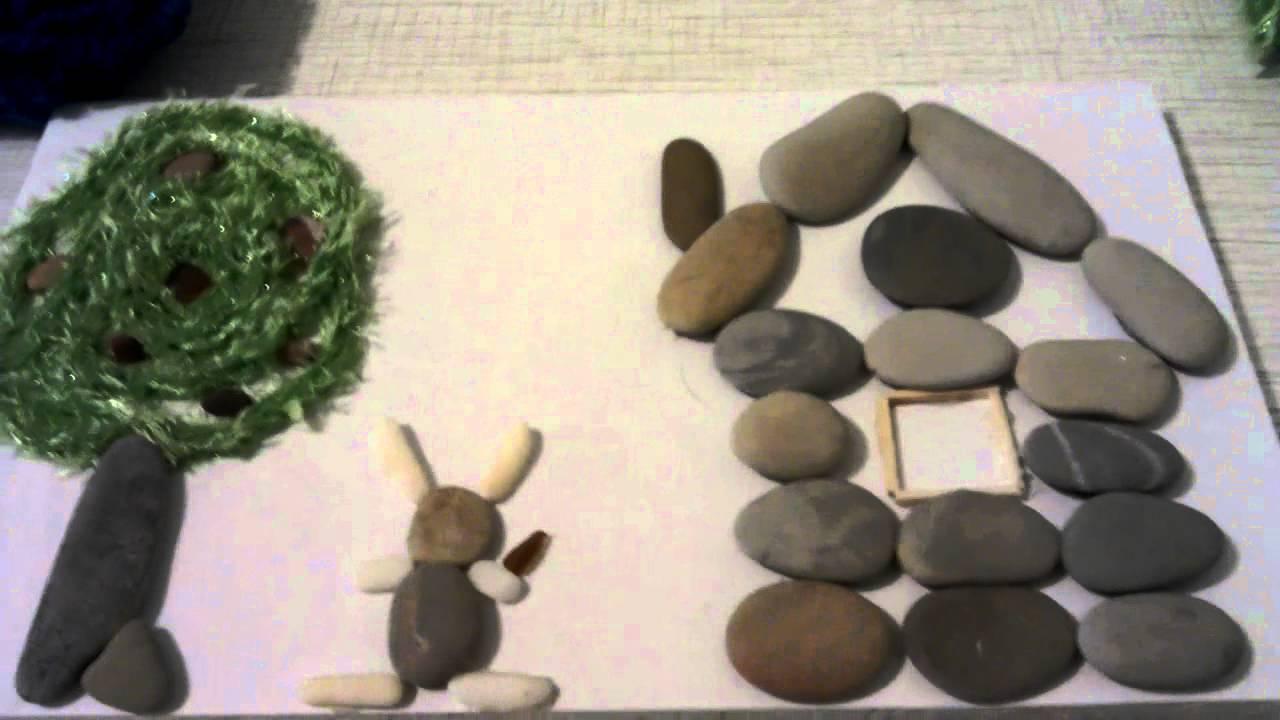 Рисунки из камней МОРЕ творческих идей для детей 66